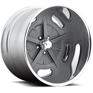 US Mags Bonneville - US309 5 Textured Grey and Polished Lip