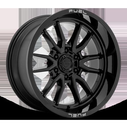 Fuel 1-Piece Wheels Clash 6 - D760 6 Gloss Black