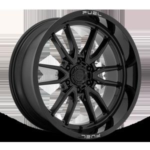 Clash 6 - D760 Gloss Black 22x10 6 lug