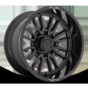 Fuel 1-Piece Wheels Clash 8 - D760 8 Gloss Black