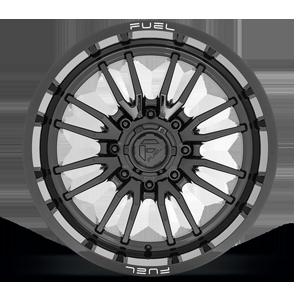 Clash 8 - D760 Gloss Black 8 lug