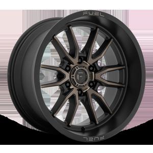 Fuel 1-Piece Wheels Clash 6 - D762 6 Matte Black w/Dark Tint
