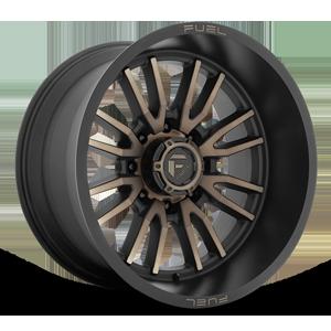Fuel 1-Piece Wheels Clash 8 - D762 8 Matte Black w/Dark Tint