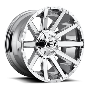 Fuel 1-Piece Wheels D614 CONTRA 6 Chrome