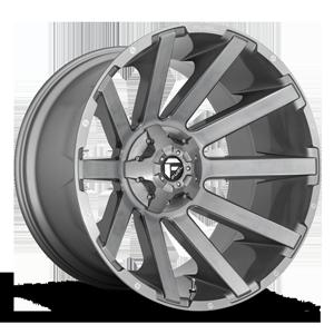 Fuel 1-Piece Wheels Contra - D714 6 Brushed Gunmetal