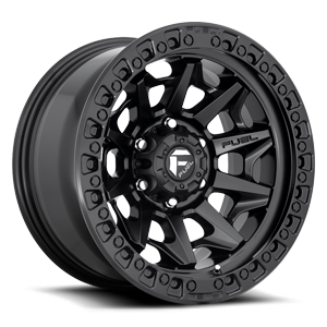 D694 COVERT Matte Black 6 lug