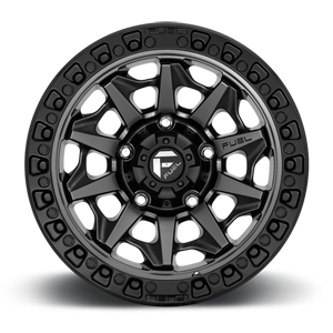 D716 COVERT Matte Anthracite w/ Black Ring 5 lug