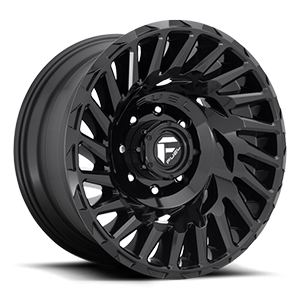 Fuel 1-Piece Wheels Cyclone - D682 8 Gloss Black