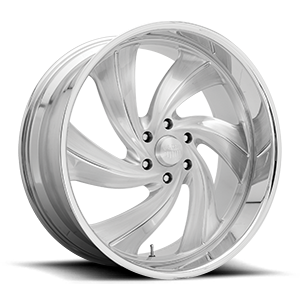 US Mags Cyclone 6 - Precision Series 6 Brushed Gloss Clear w/ Polished Details