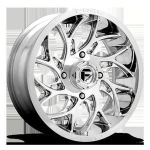 Fuel UTV Wheels Runner - D204 - UTV 4 Polished