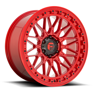 Fuel 1-Piece Wheels TRIGGER - D758 6 Candy Red
