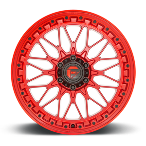 TRIGGER - D758 Candy Red 6 lug