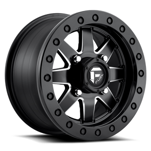 Maverick - D938 Beadlock ( HD RING ) Matte Black & Milled 4 lug
