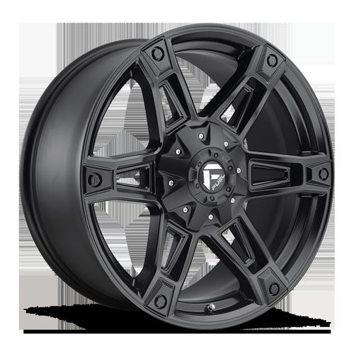 Fuel 1-Piece Wheels Dakar - D624 5 Matte Black
