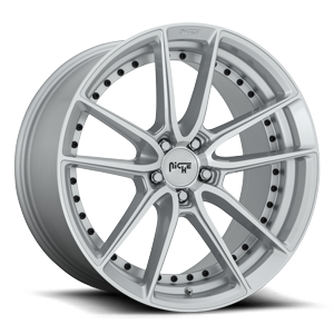 DFS - M221 Silver & Machined 5 lug
