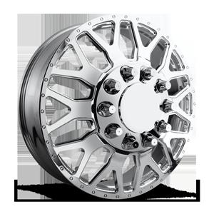 Fuel Dually Wheels FF19D 28 10 Polished