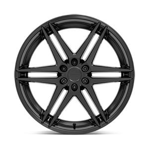 Dirty Dog - S269 Matte Black 6 lug