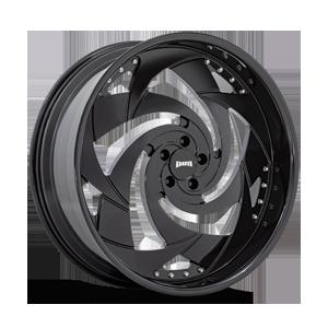Slasher - X102 Gloss Black 5 lug