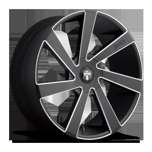 DUB 1-Piece Directa - S133 5 Black & Milled
