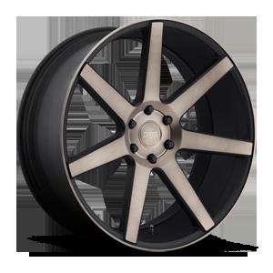 DUB 1-Piece Future - S127 6 Black & Machined with Dark Tint