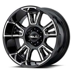Helo Wheels HE914 6 Gloss Black Milled