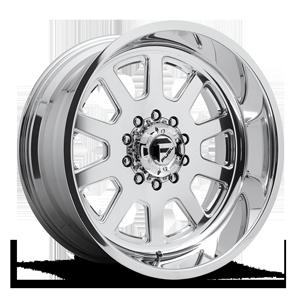 Fuel Dually Wheels FF09D - 10 Lug Super Single Front 10 Polished
