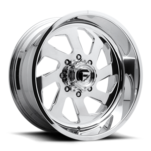 Fuel Dually Wheels FF39D - 8 Lug Super Single Front 8 Polished