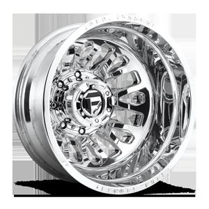 Fuel Dually Wheels FF45D - Rear 8 Polished