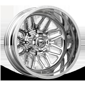Fuel Dually Wheels FF66D - Rear 8 Polished - 22x8.5
