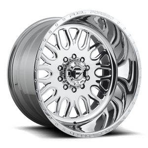 Fuel Dually Wheels FF66D - Super Single Front 10 Polished