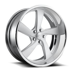 US Mags FLARE 5 - US489 5 Brushed Matte Clear w/ Polished Lip