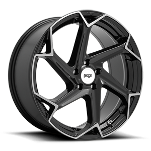 Niche Sport Series Flash - M255 5 Gloss Black with Brushed Face