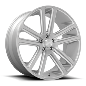DUB 1-Piece Flex - S257 6 Silver with Brushed Face