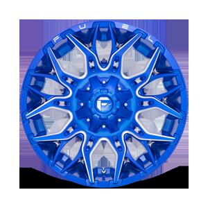 Twitch - D770 Anodized Blue/Milled 6 lug