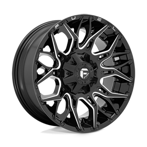 Fuel 1-Piece Wheels Twitch - D769 6 Gloss Black Milled