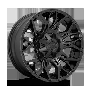 Fuel 1-Piece Wheels Twitch - D772 6 Matte Black