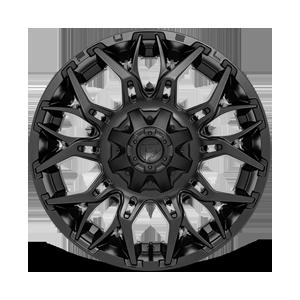 Twitch - D772 Matte Black 6 lug