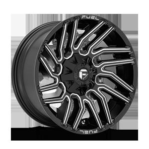 Fuel 1-Piece Wheels Typhoon - D773 6 Gloss Black Milled