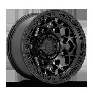 Fuel 1-Piece Wheels Unit - D786 6 Matte Black