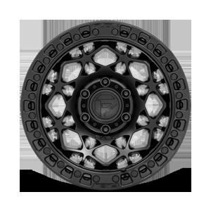Unit - D786 Matte Black 6 lug