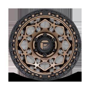 Unit - D785 Matte Bronze w/ Black Ring 6 lug