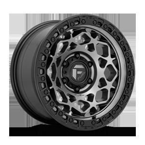 Fuel 1-Piece Wheels Unit - D784 6 Matte Anthracite w/ Black Ring