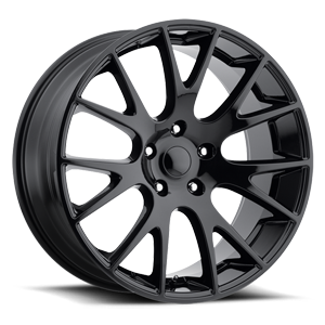 Factory Reproductions Style 70 Truck/SUV 5 Gloss Black