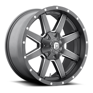 Fuel 1-Piece Wheels Maverick - D542 5 Anthracite & Milled Spoke