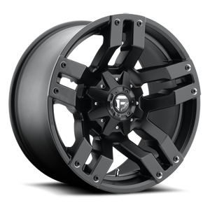 Fuel 1-Piece Wheels Pump - D515 5 Matte Black
