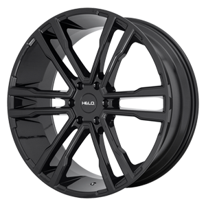 Helo Wheels HE918 6 Gloss Black