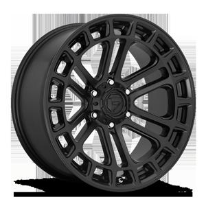 Fuel 1-Piece Wheels Heater - D718 6 Matte Black