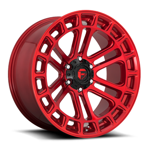 Fuel 1-Piece Wheels Heater - D719 6 Candy Red