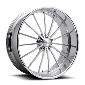 US Mags Heritage - Precision Series 5 Brushed w/ Polished Lip