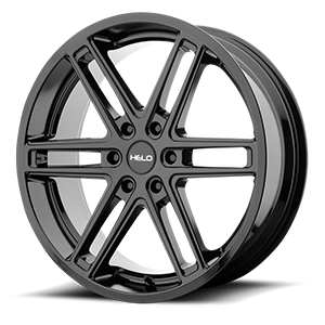 Helo Wheels HE908 6 Gloss Black